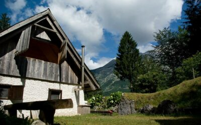 Hut & Barn in the Trenta area