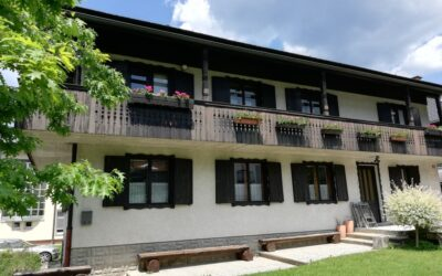 House in Bohinj with a beautiful garden
